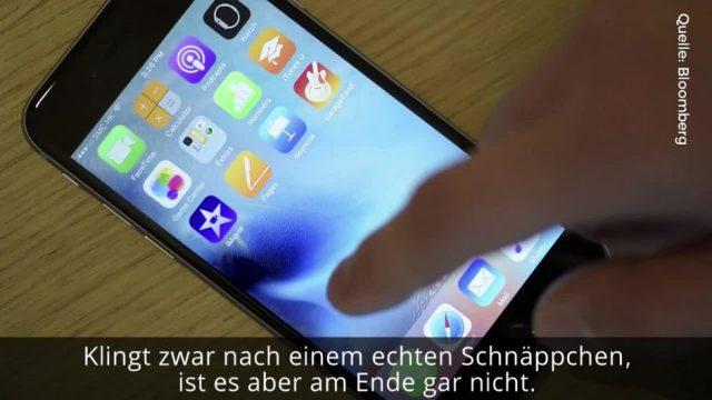 Das iPhone könnt ihr jetzt für 333 Euro kaufen. Aber es gibt einen Haken