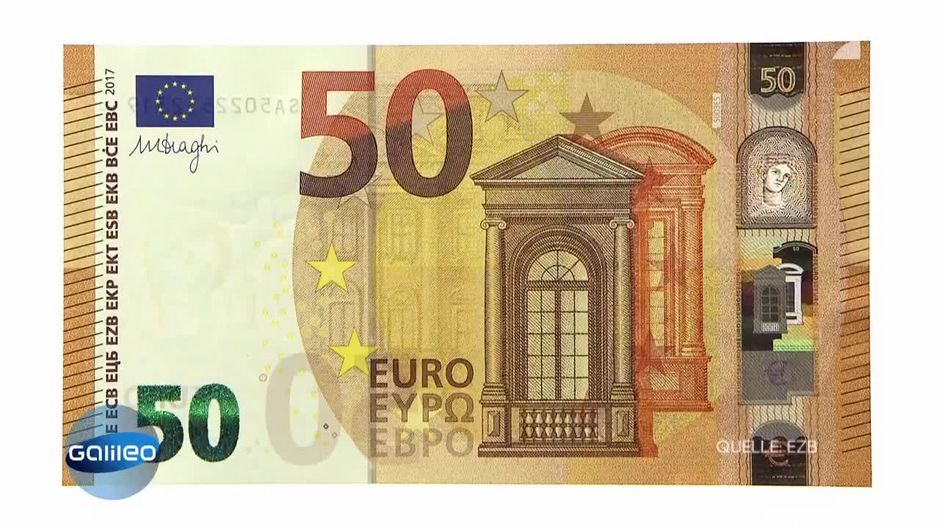 Das Ist Der Neue 50 Euro Schein