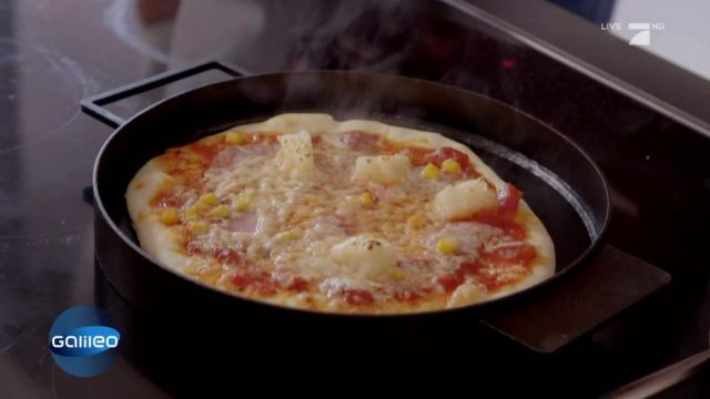 Ironate: Die Pizza-Pfanne