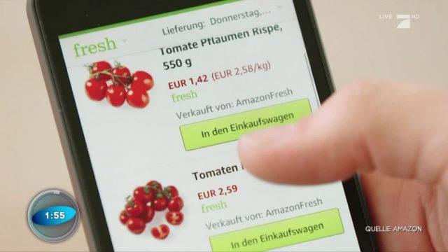 Amazon Fresh: Was bringt der neue Service?