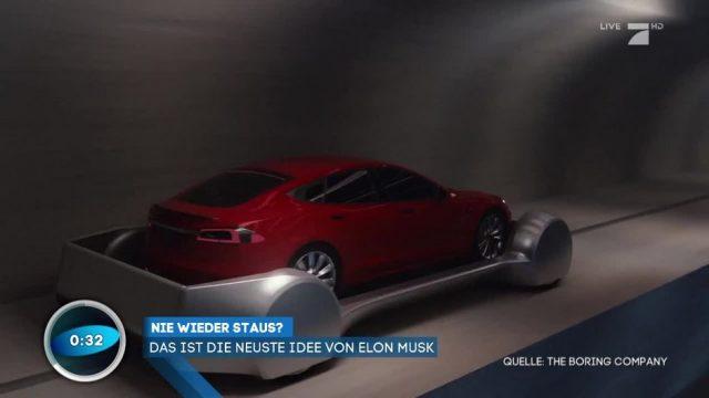 Das steckt hinter Elon Musks automatisiertem Tunnelsystem