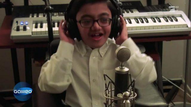Dieser Kinder-YouTube-Star wurde mit seinen Raps weltberühmt