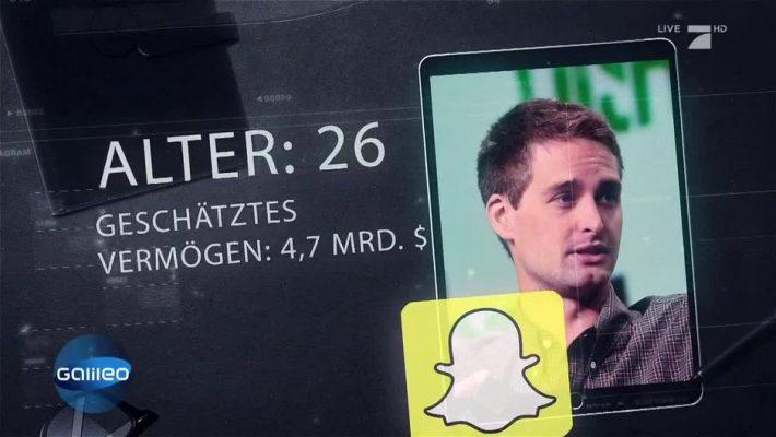 Evan spiegel das online wissensmagazin for Spiegel tv magazin heute themen