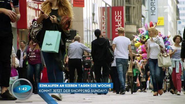 Kann man zukünftig auch sonntags shoppen?