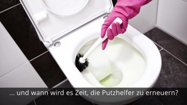 Keime werden irgendwann nicht mehr weggeschrubbt: So oft solltest du deine Klobürste wechseln