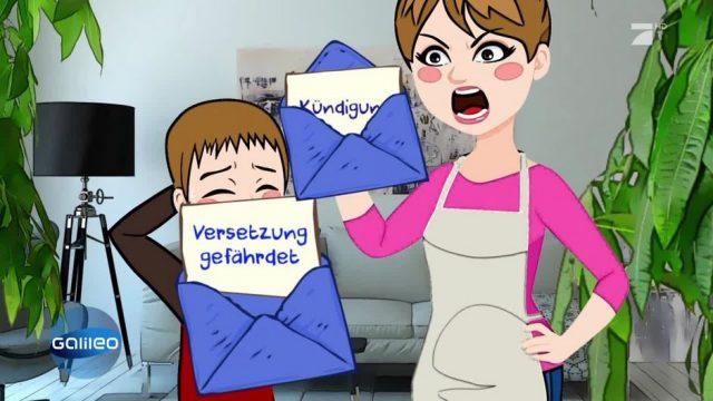 """Schlaumeier: Woher kommt der """"Blauer Brief""""?"""