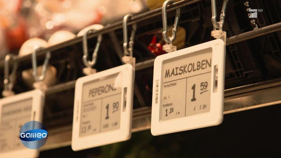 Wie Funktionieren Die Elektronischen Preisschilder
