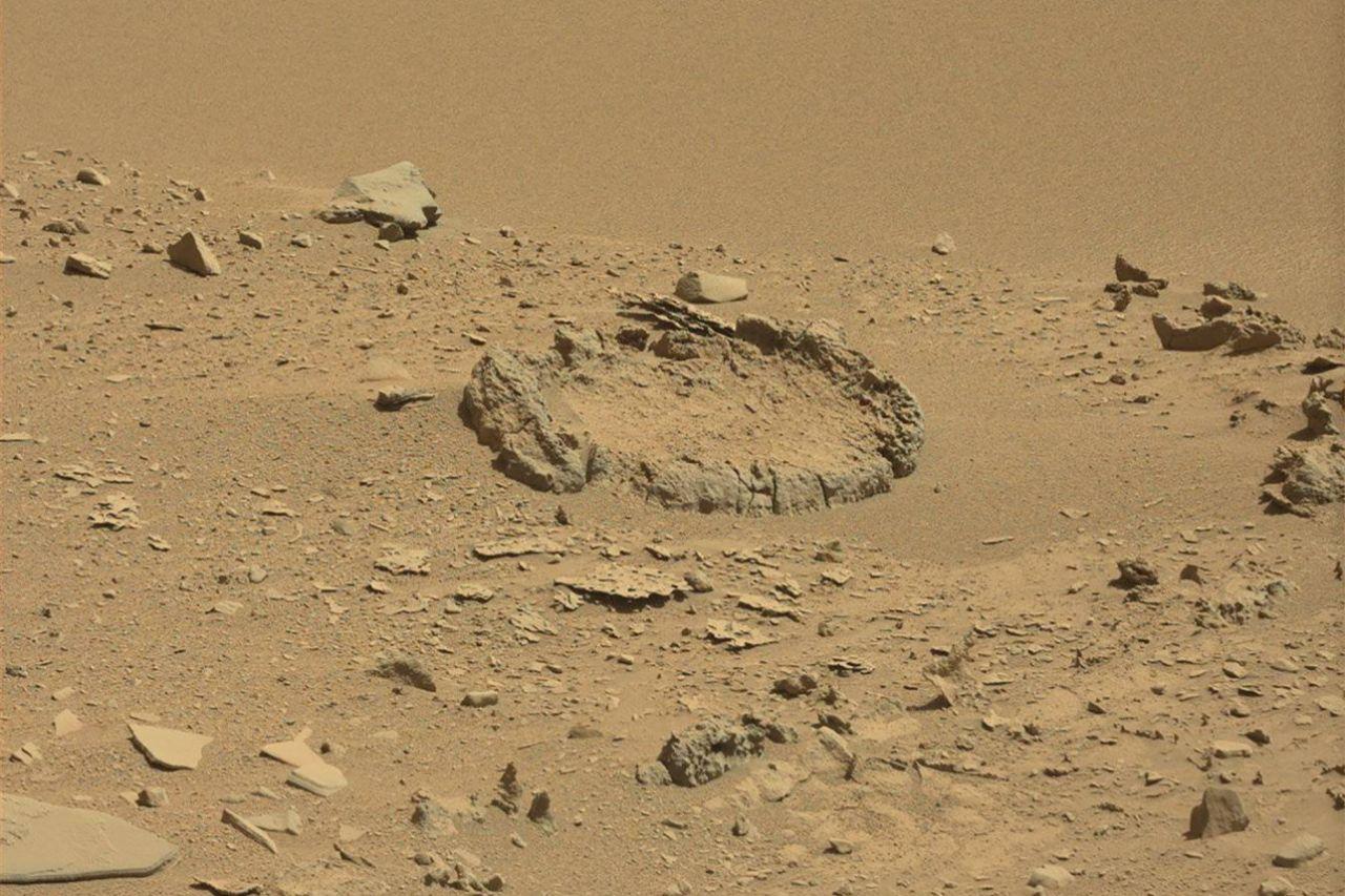 Geheimnisvoller Steinkreis auf dem Mars sorgt für Diskussionen