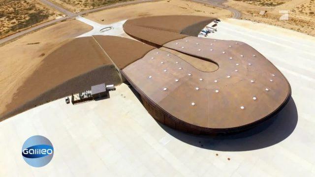 Der private Weltraumbahnhof von New Mexico