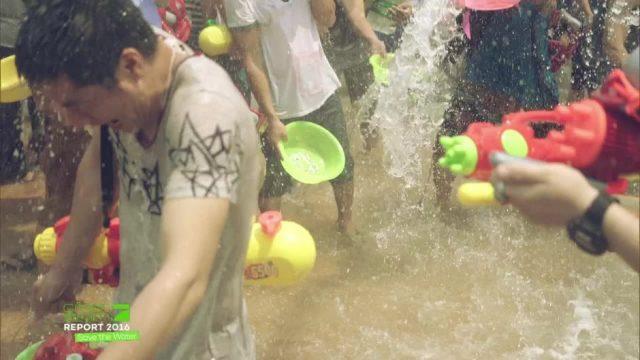 Gegensätze in China: Wassermangel vs. Wasserverschwendung
