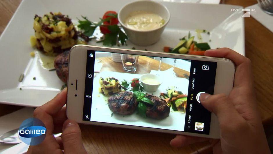 Darf ich mein Essen fotografieren und dann posten?