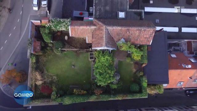 Der Bauernhof auf dem Dach