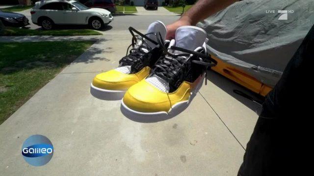 Diese Sneakers wechseln die Farbe