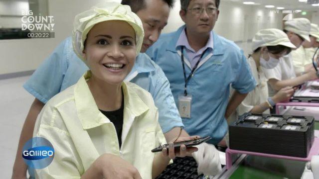 Hinter den Kulissen einer asiatischen Smartphone-Fabrik