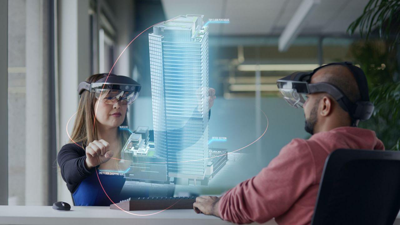 ein augmented reality b ro ohne bildschirme der