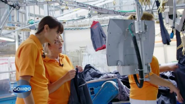 Arbeiten in einer Großwäscherei - wie hart ist der Job?