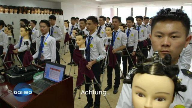 Das ist die härteste Friseur-Schule der Welt