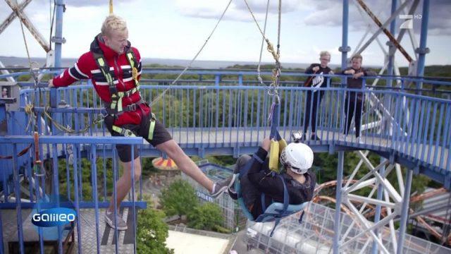 Dieser Freefall Tower in Dänemark ist krasser als Bungee Jumping