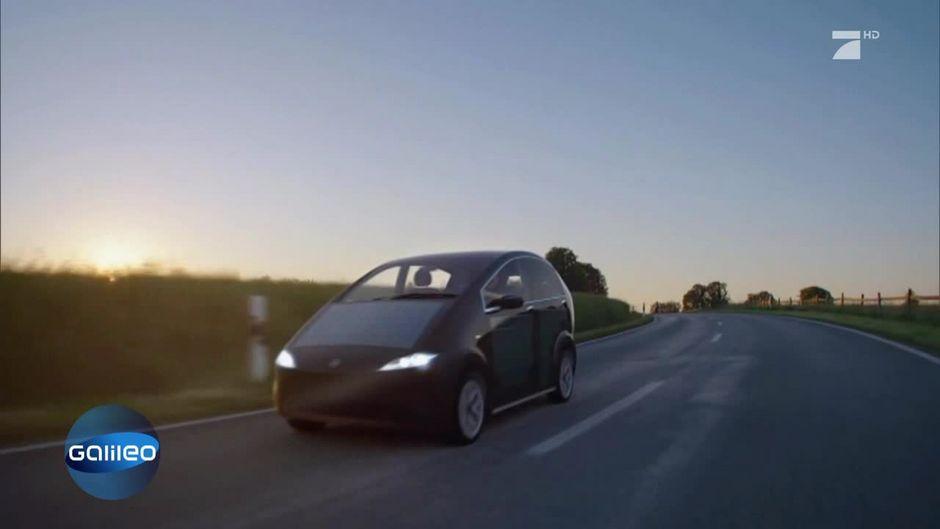 Dieses Auto fährt mit Solar-Energie