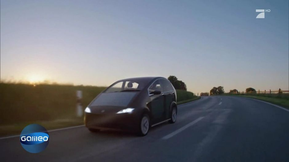Auto Kühlschrank Solar : Dieses auto fährt mit solar energie