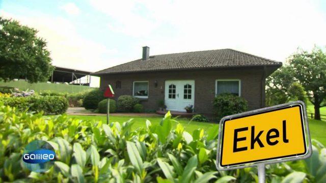 Ein Ort namens Ekel - Das steckt hinter dem skurrilen Namen