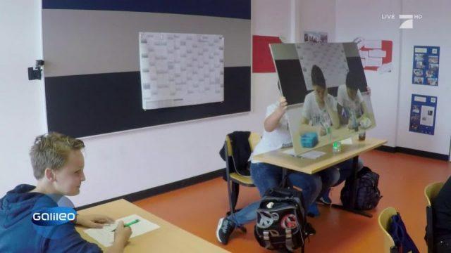 Kann man bei Prüfungen den Lehrer mit einem Trick-Poster täuschen?