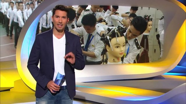 Sonntag: Die strengste Friseur-Schule der Welt