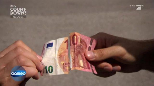Was macht man mit einem zerrissenem Geldschein?