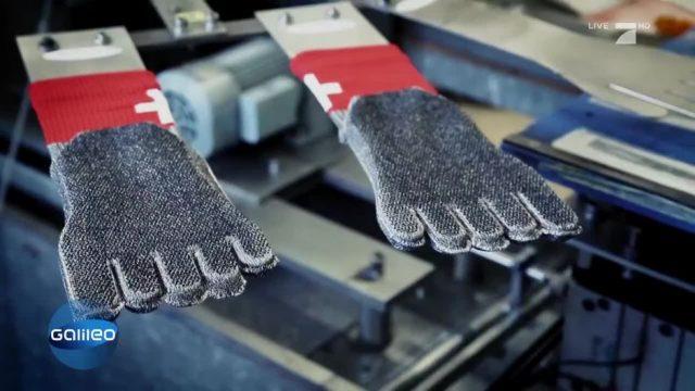 Was steckt hinter der Socke aus Stahl?