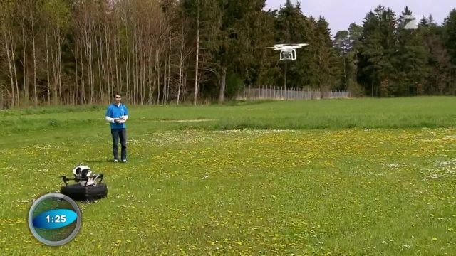 Wissenscountdown: Führerscheinflicht für Drohnen