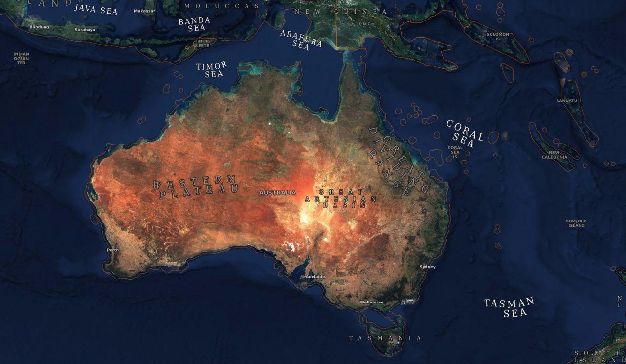 Karte Erde.Zoom Dich Hier Durch Eine 80 Billionen Pixel Karte Unserer Erde