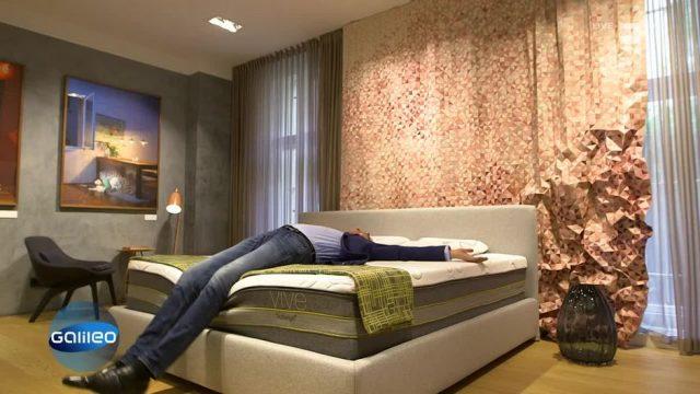 Die Wundermatratze revolutioniert unseren Schlaf