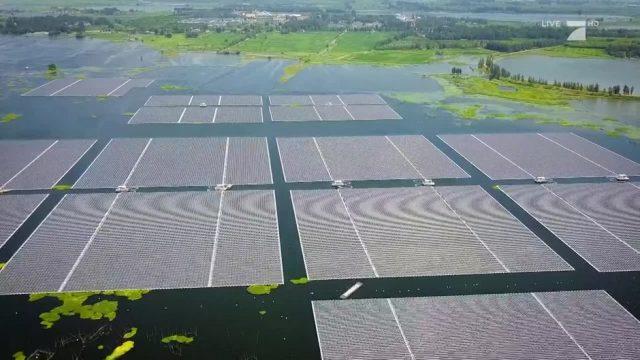 Die schwimmenden Solarfarmen Chinas