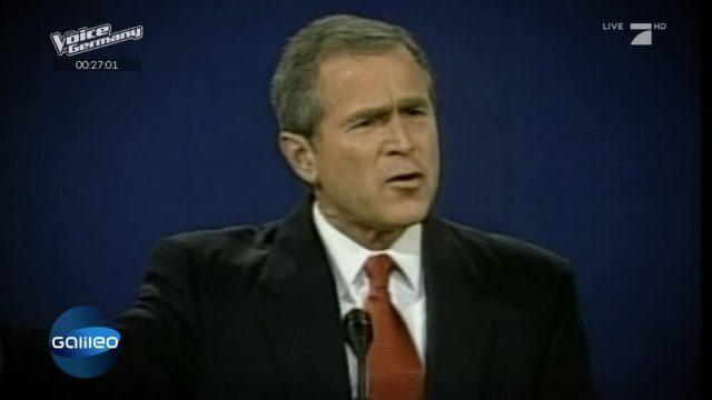 Diese Fake News hat George W. Bush zu seinem Wahlsieg verholfen