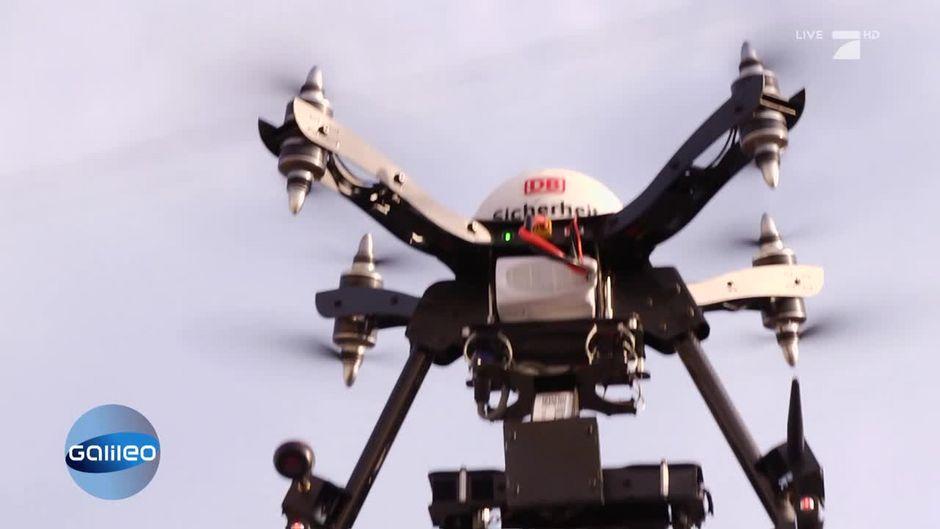 Drohnen Bei Der Deutschen Bahn Das Soll Die Technik Verbessern
