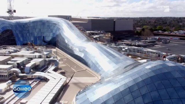 Ein Glashaus als Meisterleistung der Ingenieure