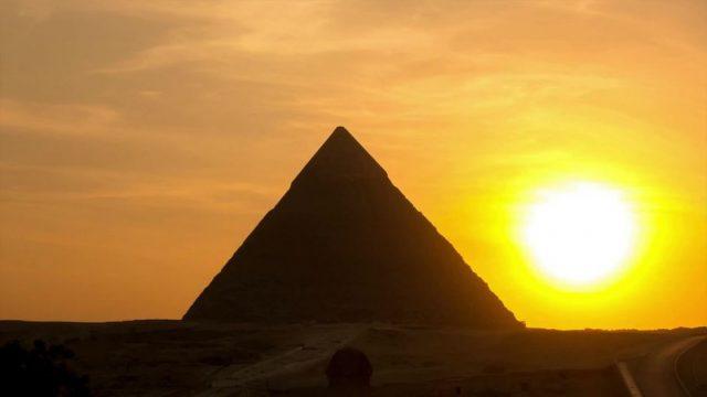 Ein Vulkanausbruch führte zum Untergang Ägyptens