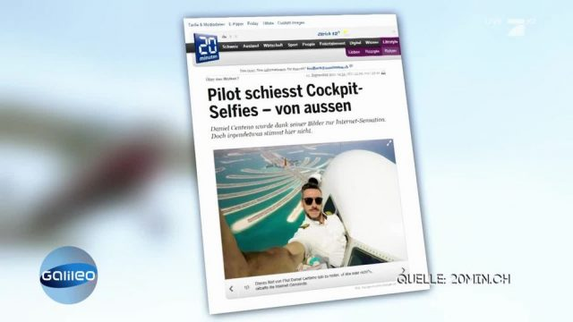 Finde die Fake News: Unkämmbare Haare und riskantes Piloten-Selfie