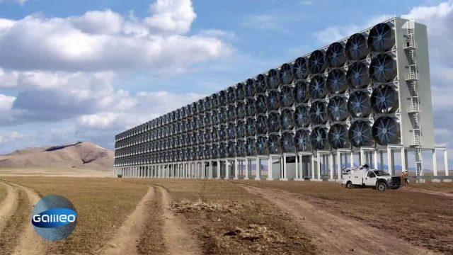 Gibt es CO2-Staubsauger, die die globale Erwärmung aufhalten können?