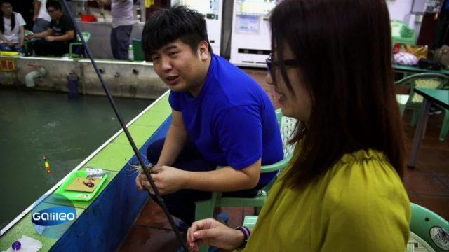 Indoor-Angeln in Taiwan: ein leckerer Food-Trend