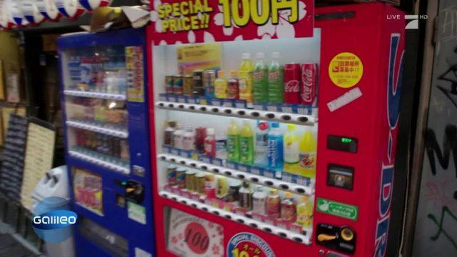 Japan: Kostenlose Regenschirme aus dem Getränkeautomaten?