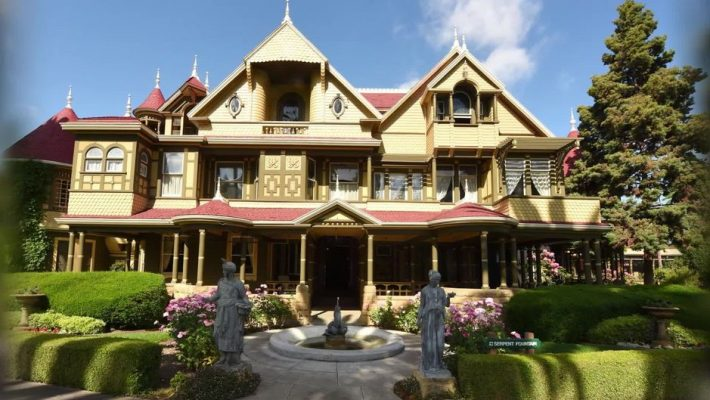 the winchester mystery house dieses haus wurde f r geister gebaut. Black Bedroom Furniture Sets. Home Design Ideas