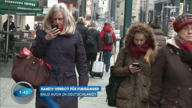USA: Handyverbot für Fußgänger