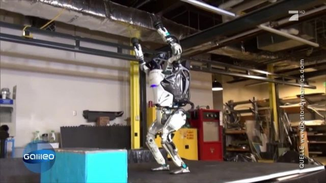 Atlas, der humanoide Roboter: So fortgeschritten ist seine Technik