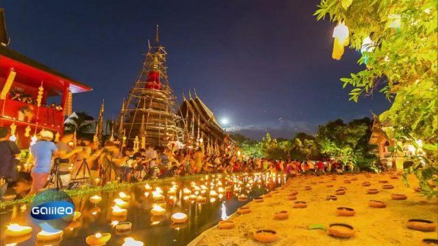 Das Lichterfest in Thailand
