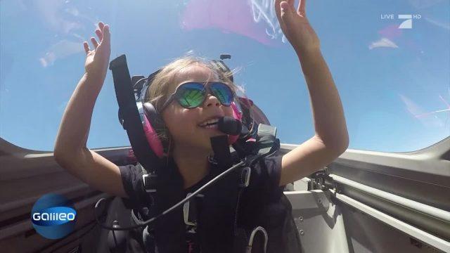 Das ist die jüngste Pilotin der Welt