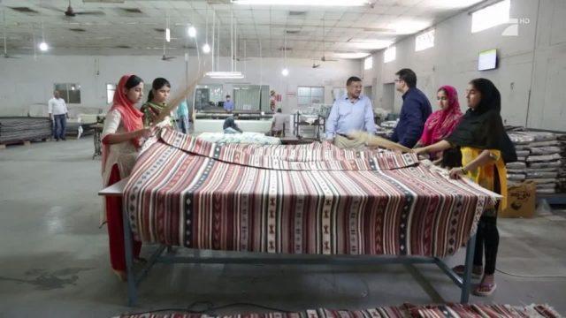 Die Teppich-Hochburg Indiens