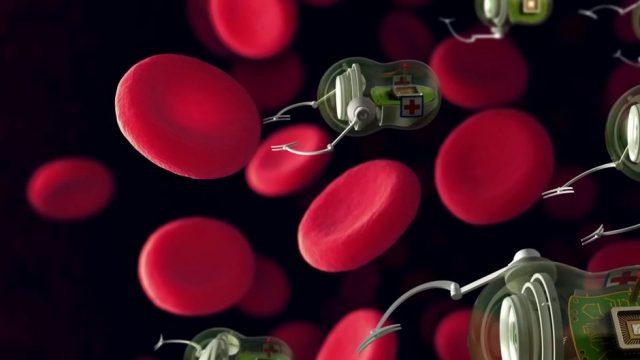 Nanoroboter könnten in Menschen injiziertwerden um Krebs zu bekämpfen