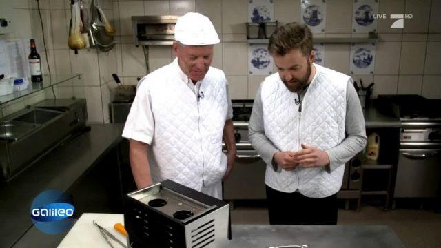 Bratwurst aus dem Toaster