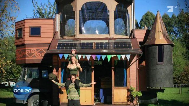 Das skurrilste Wohnmobil Neuseelands
